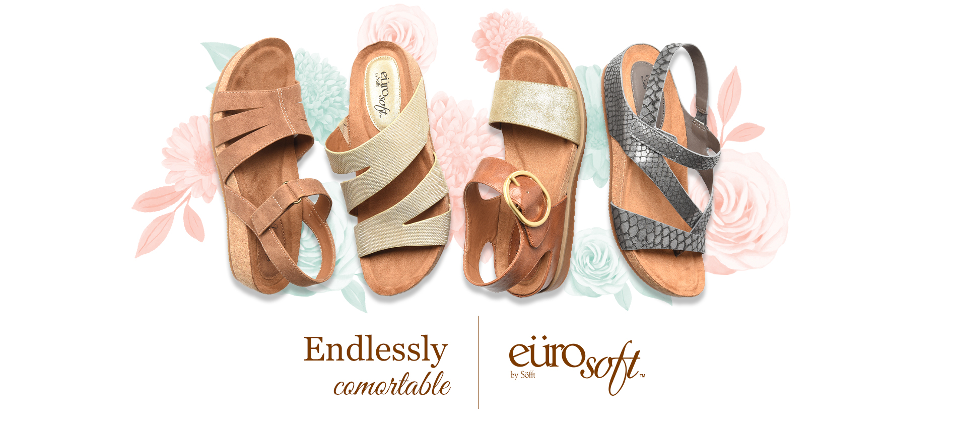 Endlessly comfortable. Eurosoft by Sofft. Shop All Styles