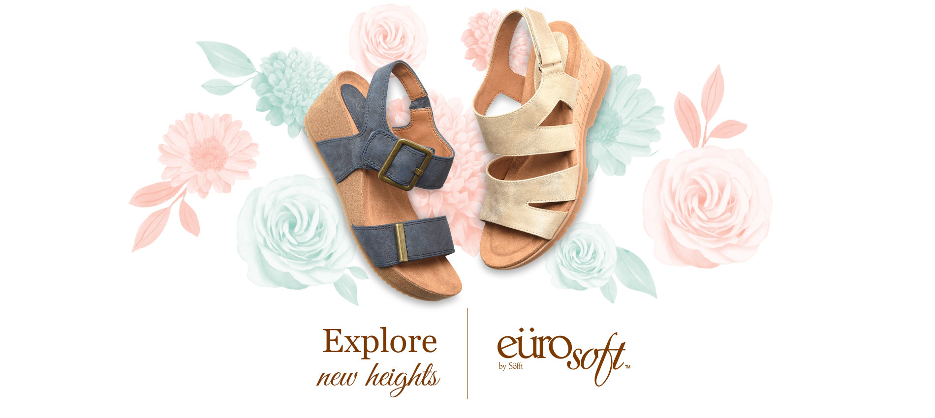 Explore new heights. Eurosoft by Sofft. Shop All Styles
